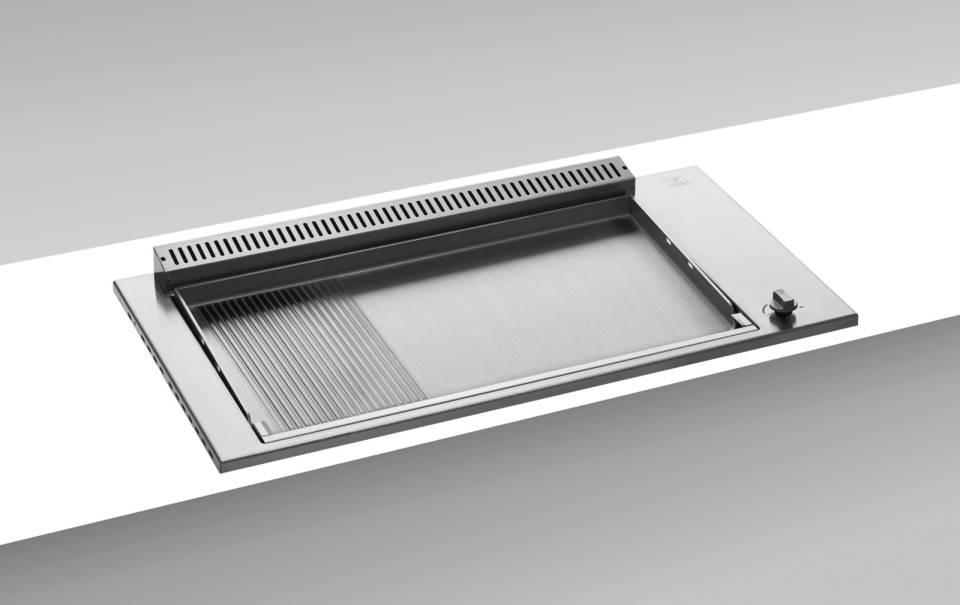 Oasi Serie - Einbau Plancha 80 glatt/geriffelt