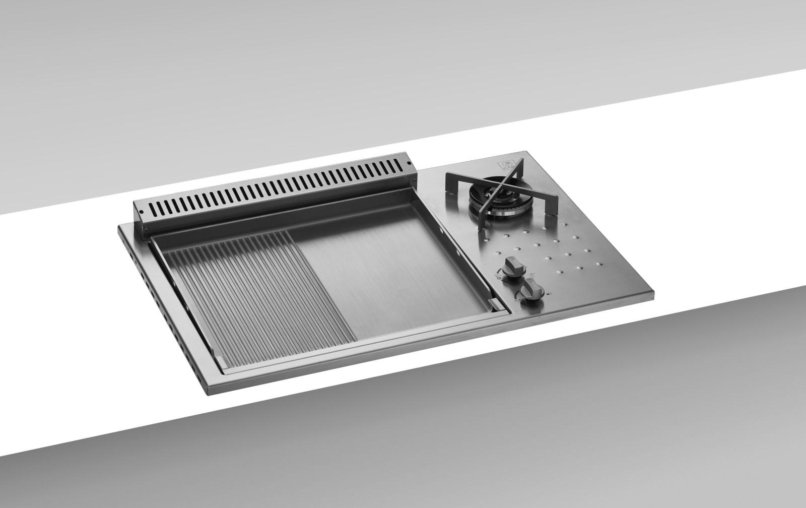 Oasi Serie - Einbau Plancha 55 glatt/geriffelt