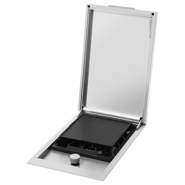 Proline Serie - Einbauseitenbrenner Zubehör Grillplatte