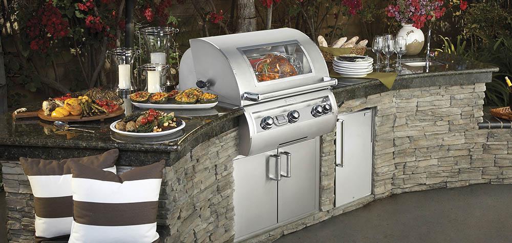Fire Magic - Outdoorküche - Einzeltür 14'' horizontal mit Scharnier links